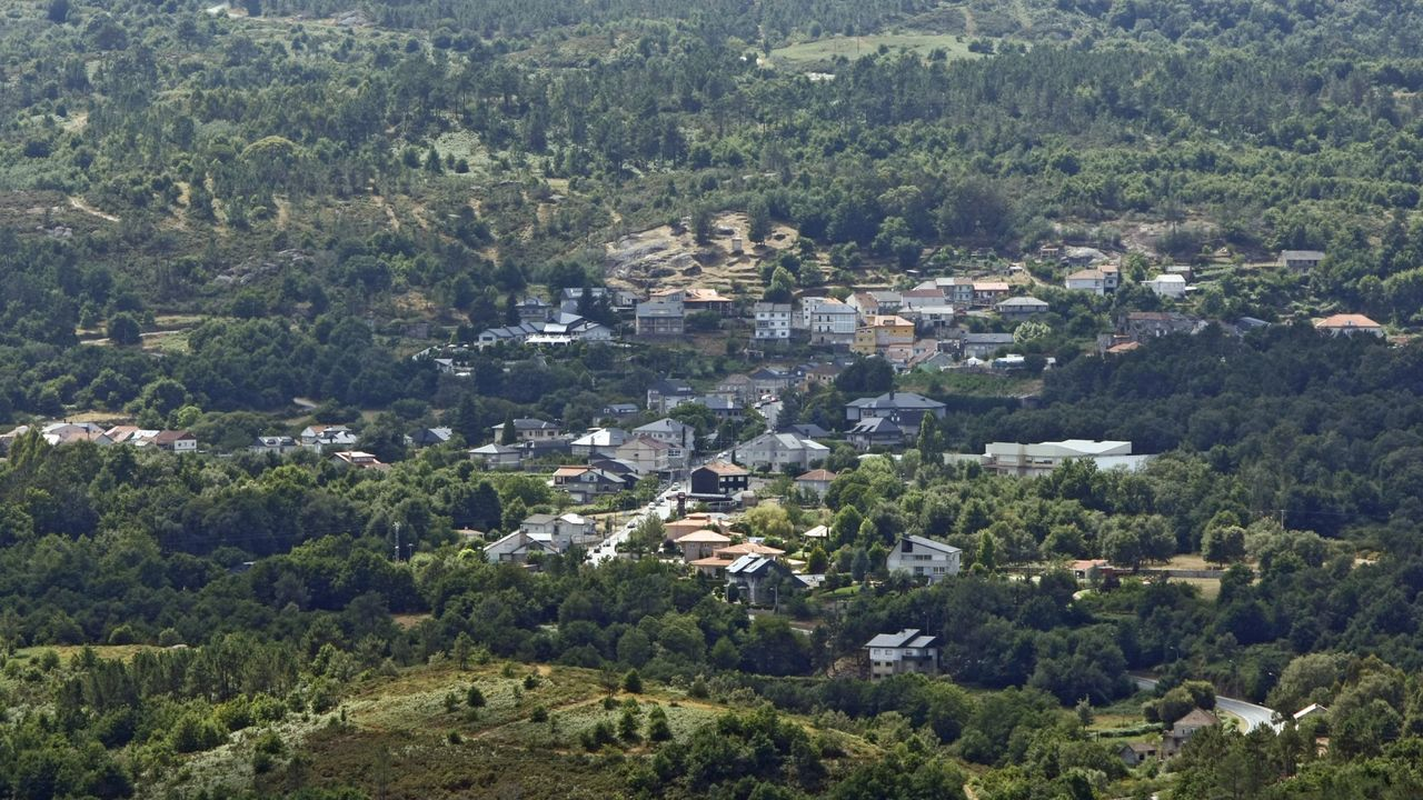 Vista del municipio ourensano de Avión