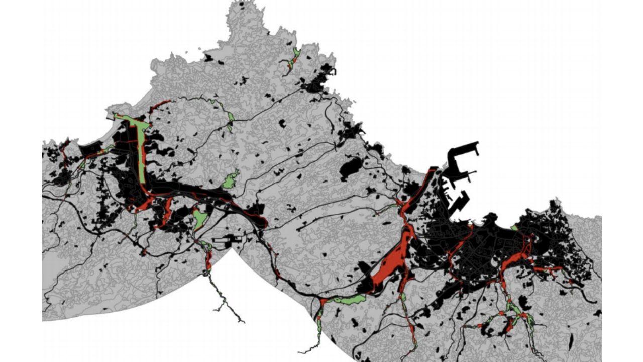 Gráfico inundaciones Gijón