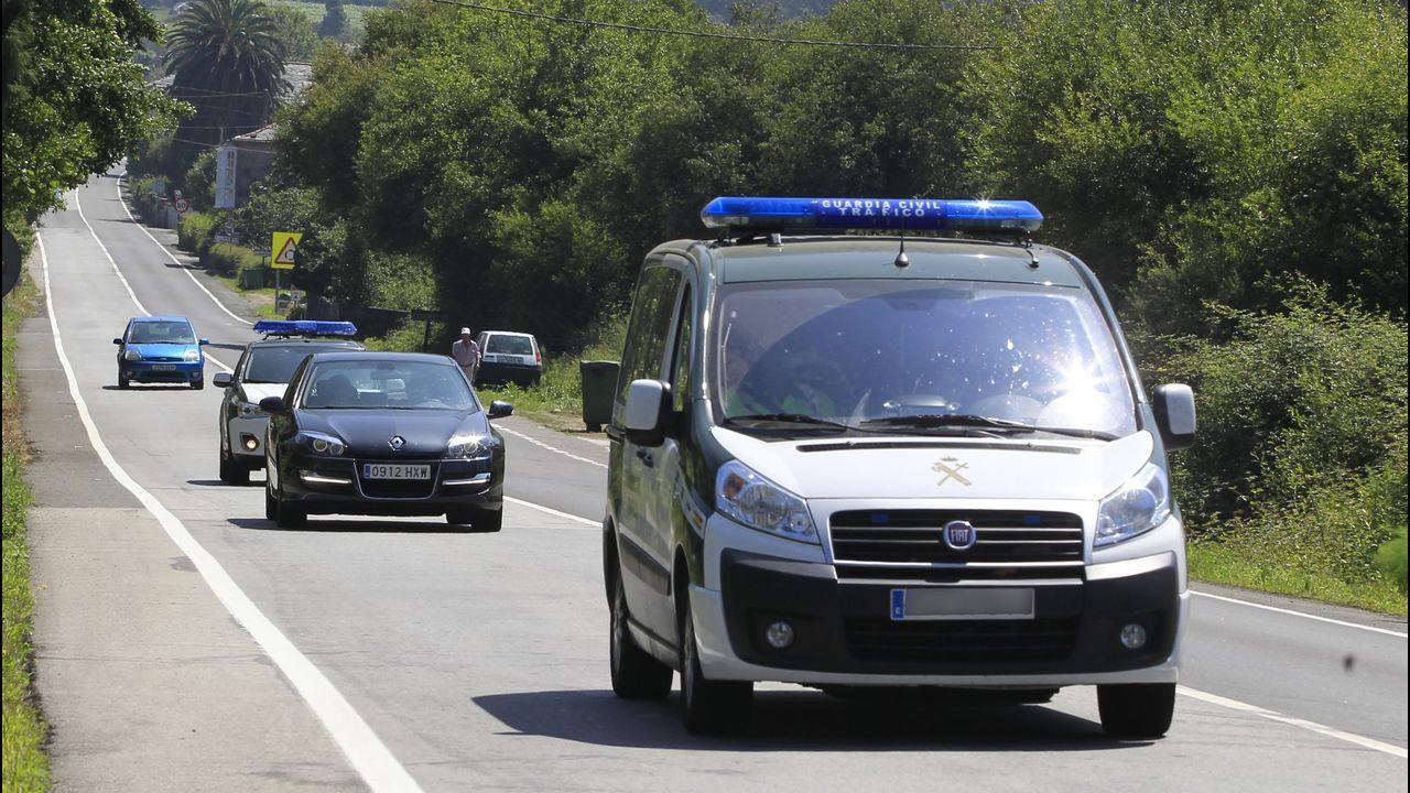 Un control de la Guardia Civil de Tráfico