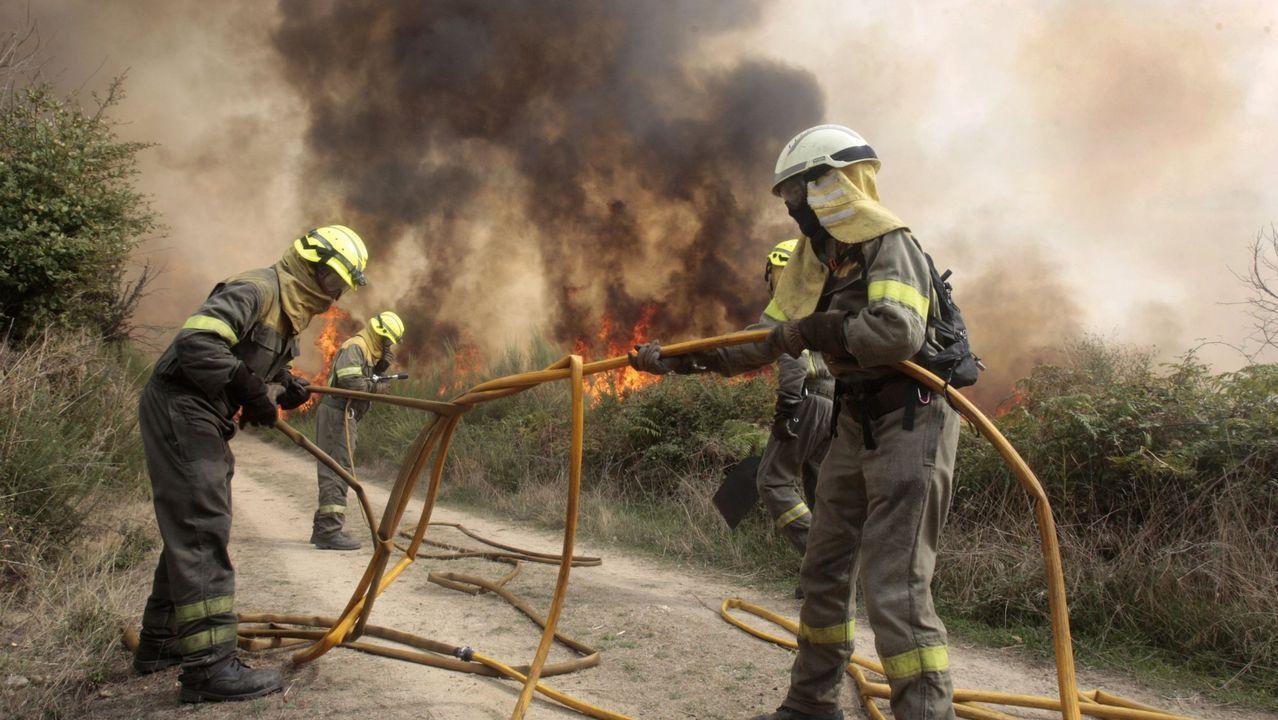 Incendio en Asturias