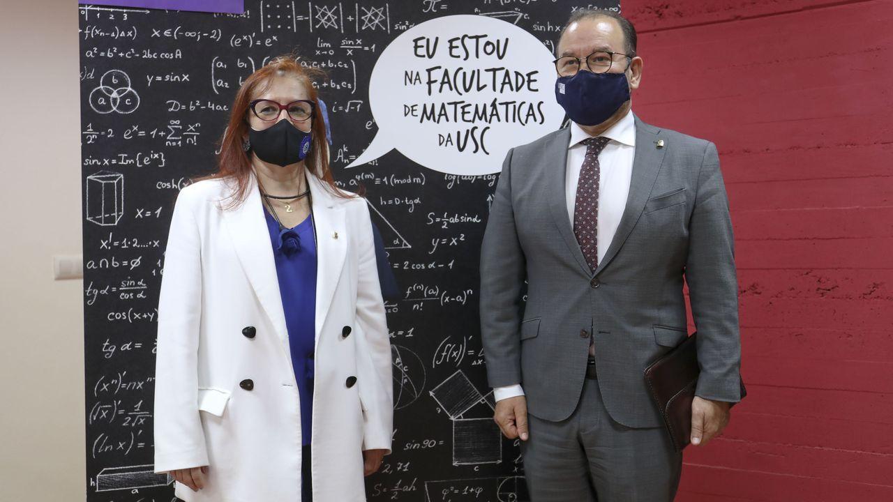 Ceremonia de graduación en el Centro Superior de Hostelería de Galicia