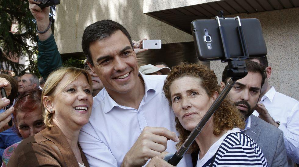 Pedro Sánchez: «Si no gana el PSOE en España, no habrá cambio»