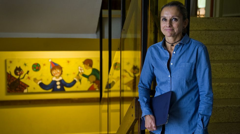 Juana Otero, secretaria autonómica de Escolas Católicas, asociación que agrupa a más de cien colegios religiosos de Galicia