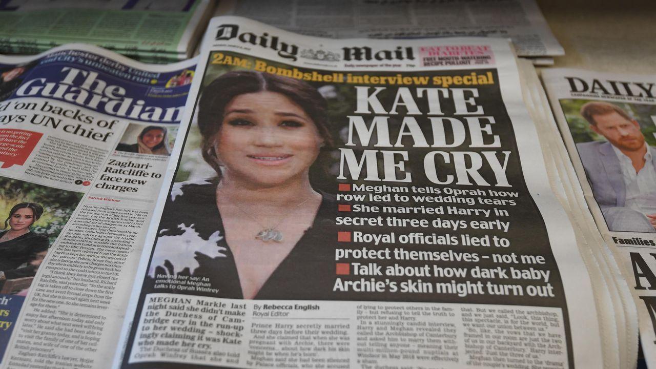 Terremoto en el Reino Unido por las acusaciones de Meghan Markle y el  príncipe Enrique contra los Windsor