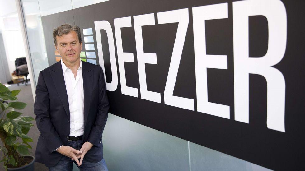 El CEO de Deezer, Hans-Holger Albrecht