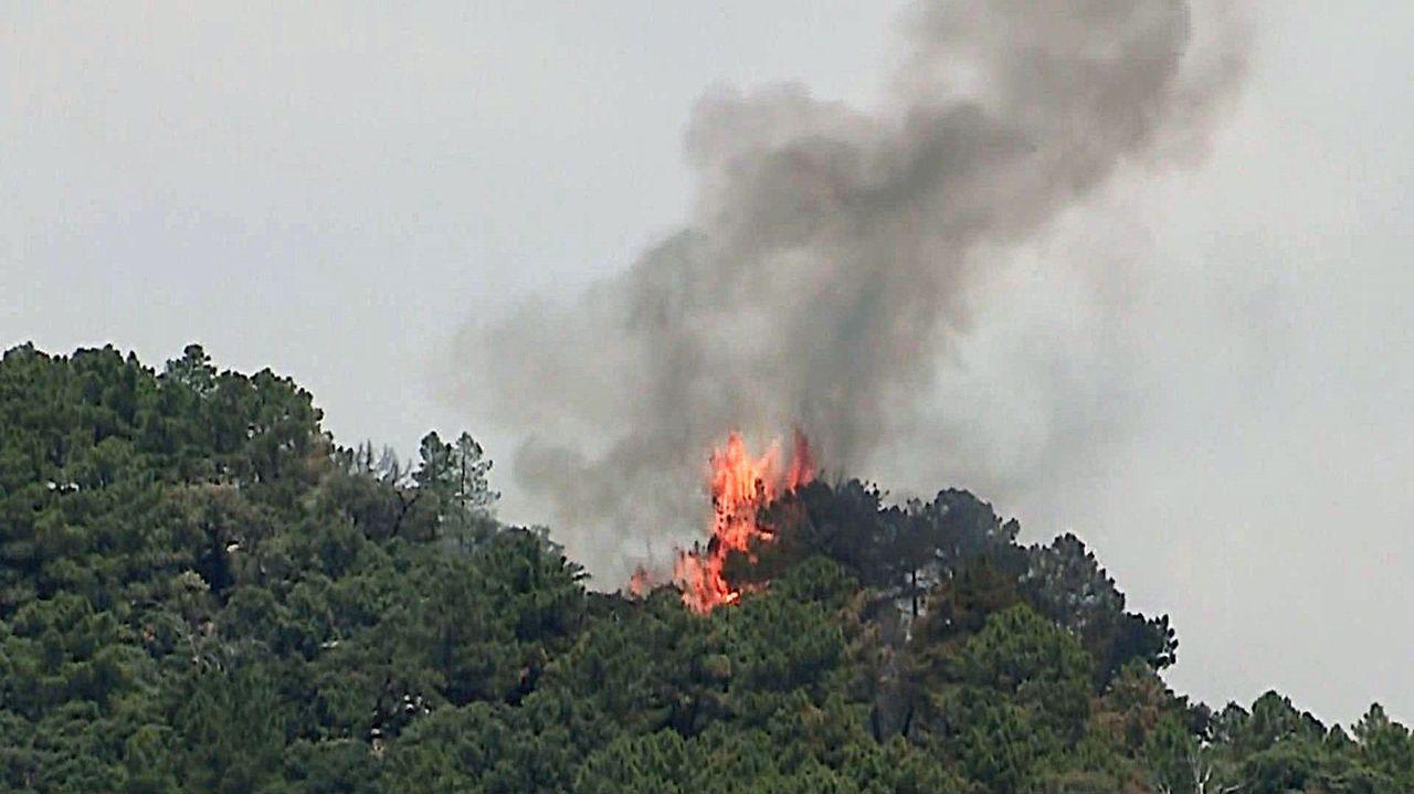 Los incendios del fin de semana, más cerca de controlarse.Cayetana Álvarez de Toledo y Pablo Casado, en un acto electoral en Barcelona