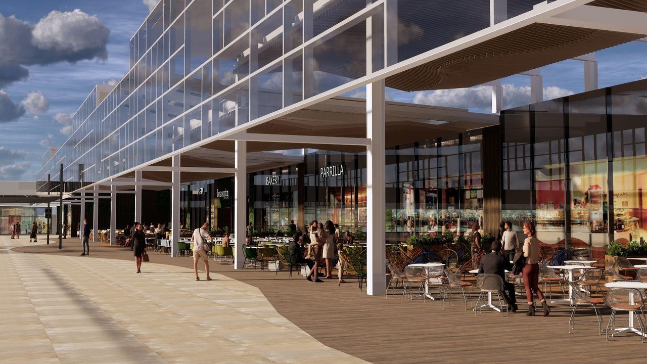 Imagen del proyecto del parque comercial Breogán Park