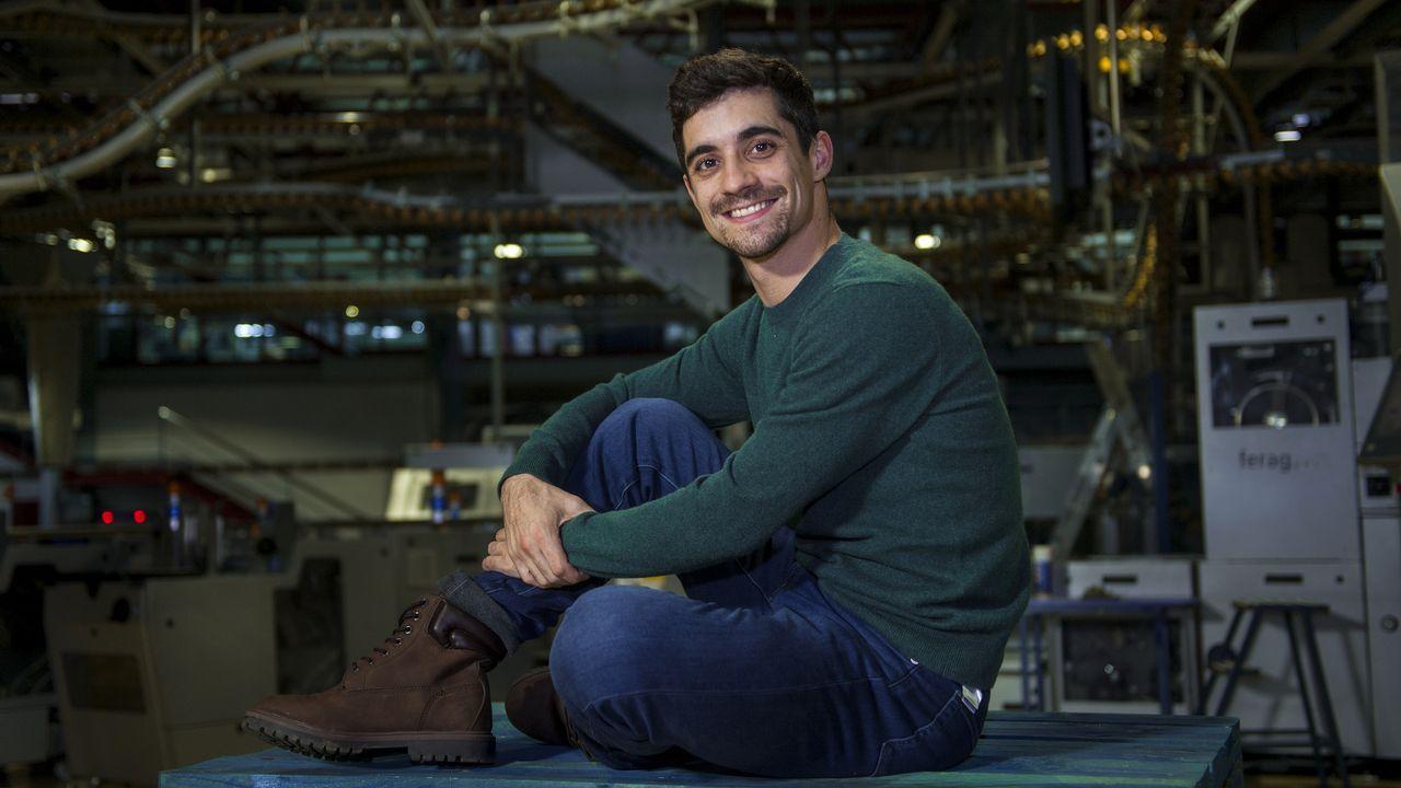 Javier Fernández, doble campeón del mundo de patinaje artístico presenta «Revolution Ice».Aitor Unzué, durante su etapa en el Celta