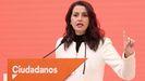 Inés Arrimadas, líder de Ciudadanos, en una imagen de archivo.