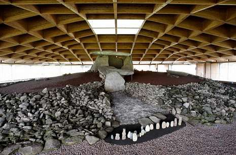 El centro de interpretación estará abierto al público todos los días durante dos meses y medio.
