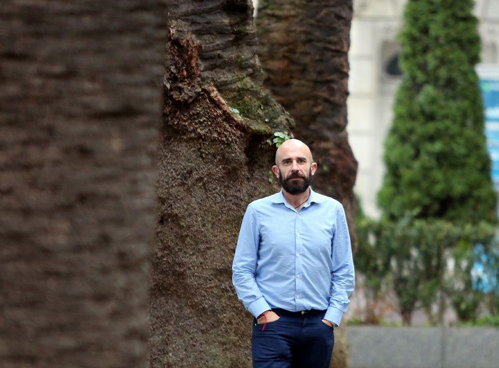 Pablo Valeiras, portavoz de Alternativas na Xustiza-CUT y funcionario de Xustiza.