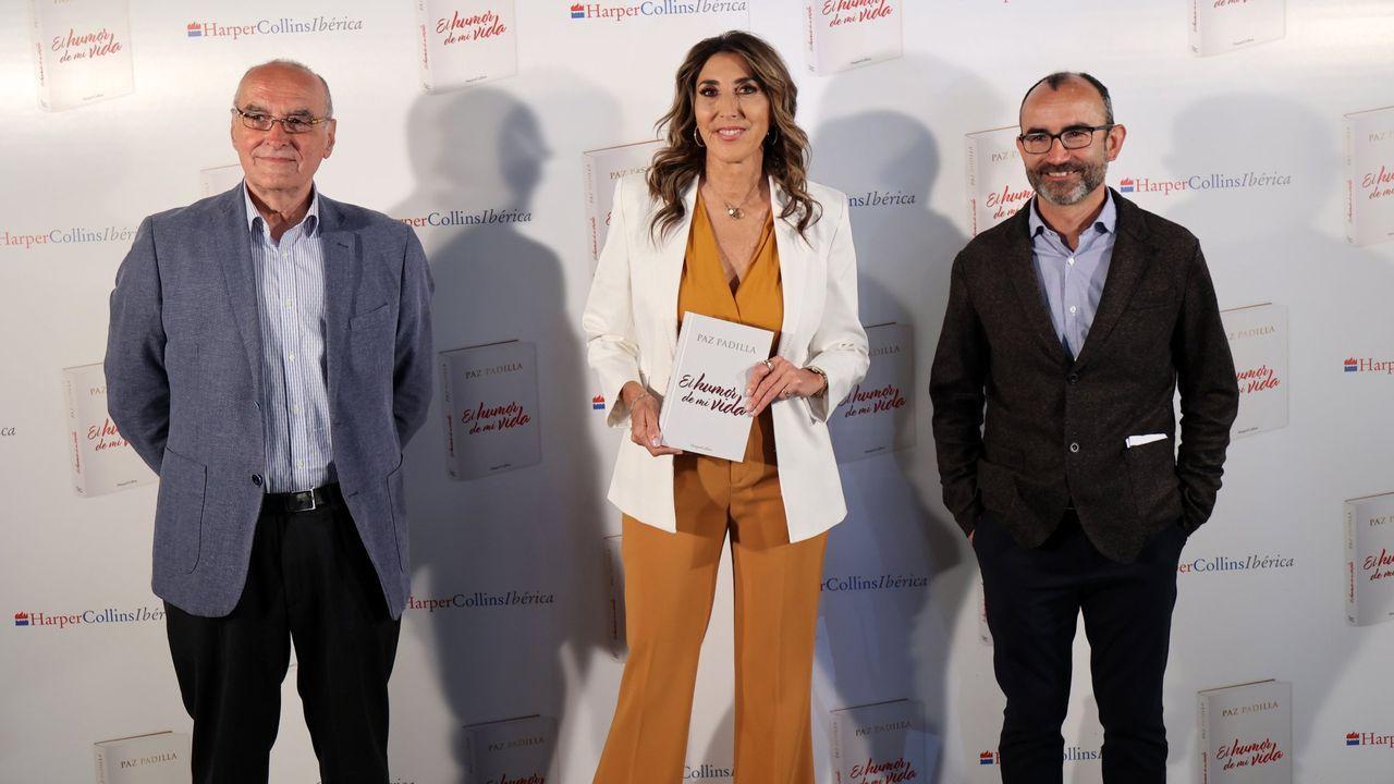 Paz Padilla presentó un libro sobre su expriencia