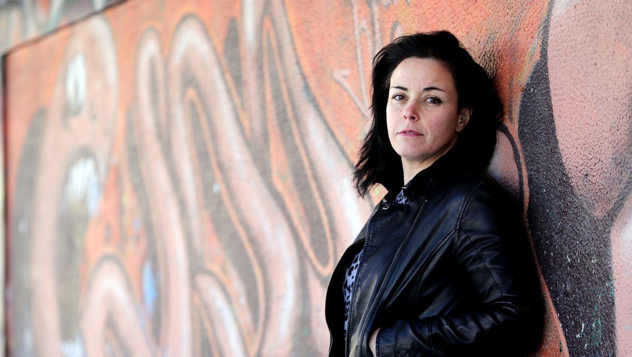 Iolanda Zúñiga, autora de «Natura», nunha foto do 2018