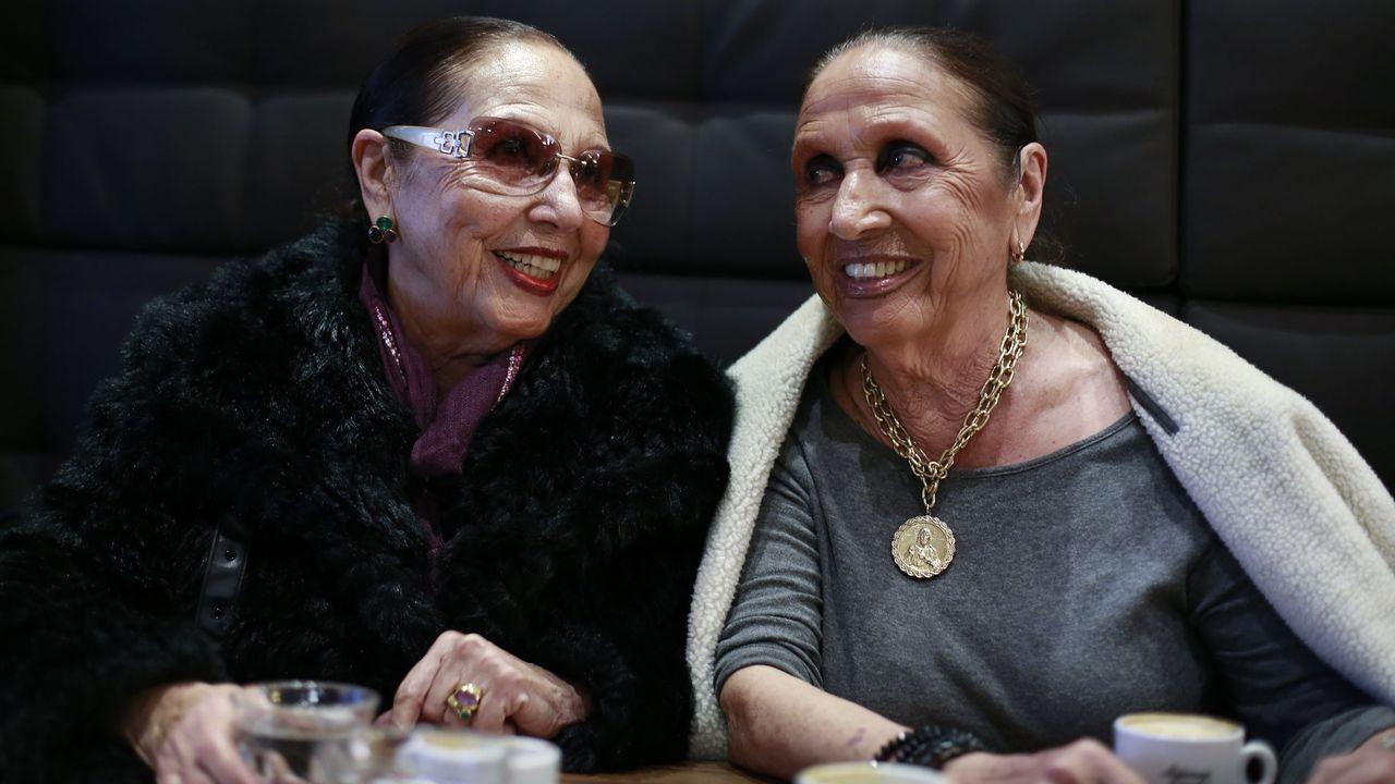 Licha y Mari, las hermanas gemelas del Gurugú