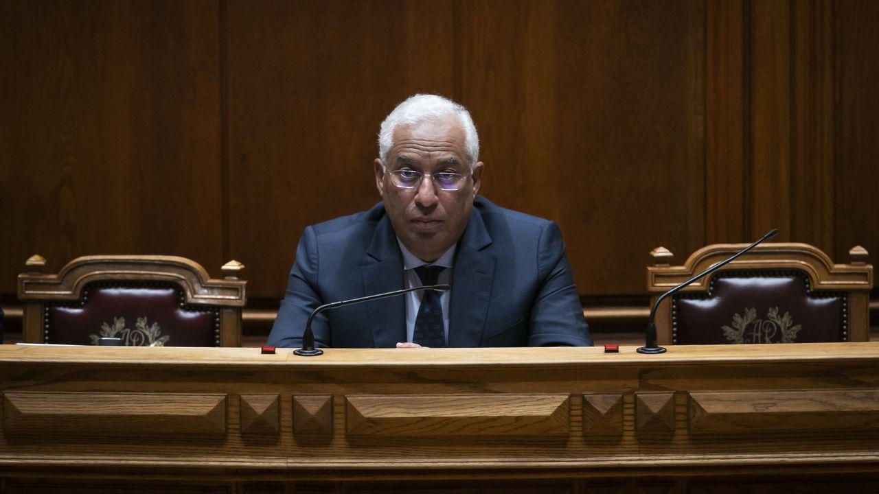 El primer ministro portugués, António Costa, que este jueves detallará las medidas que pondrá en marcha su Gobierno