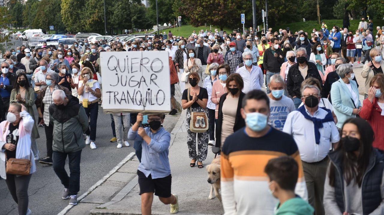 Cacerolada en A Coruña contra la okupación y la delincuencia