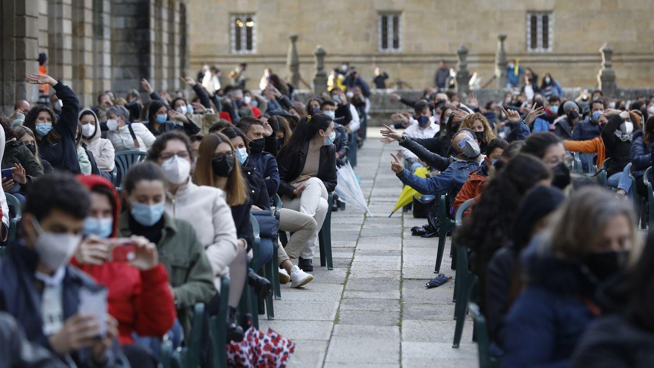 Casalonga lleva su queja a Santiago.Los conciertos de la Ascensión, en Santiago, fueron de los primeros de la temporada
