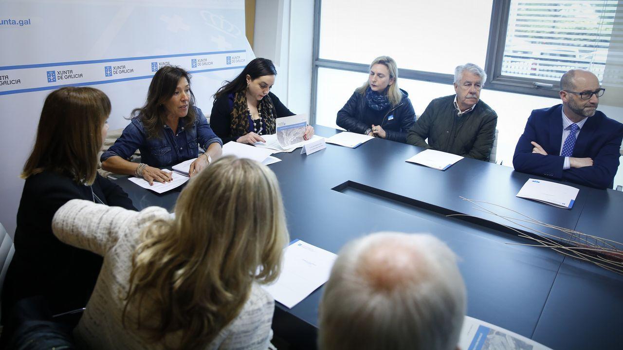 BEATRIZ MATO SE REUNE CON LAS JUNTAS DIRECTIVAS DE LOS POLÍGONOS INDUSTRIALES