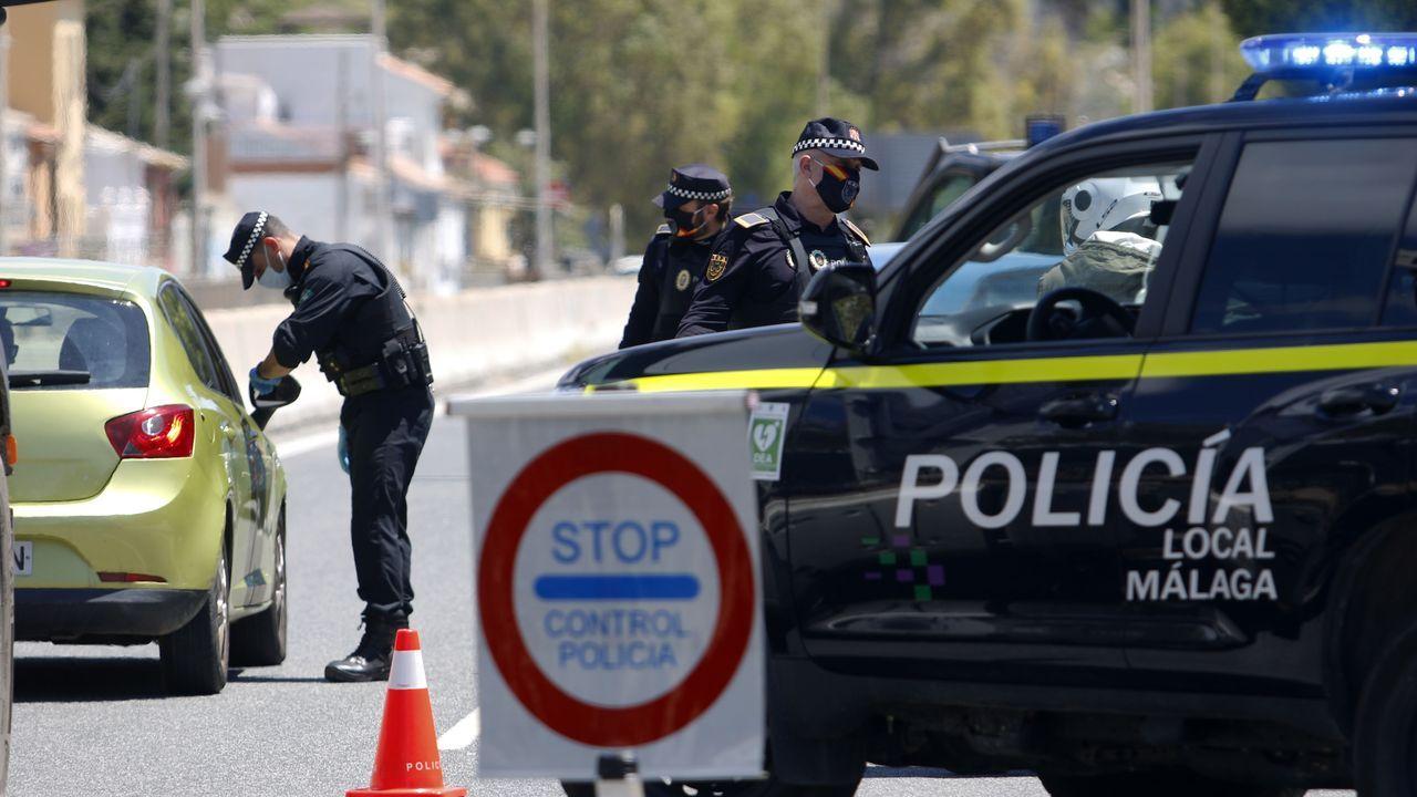 Policía Local de Málaga realiza controles de carreteras de cara al puente del 1 de Mayo para que los malagueños no acudan a las segundas residencias