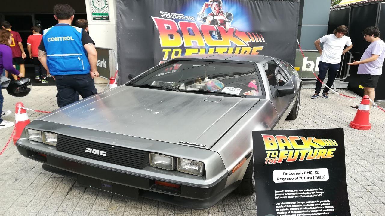 El Delorean de Doc y Marty McFly
