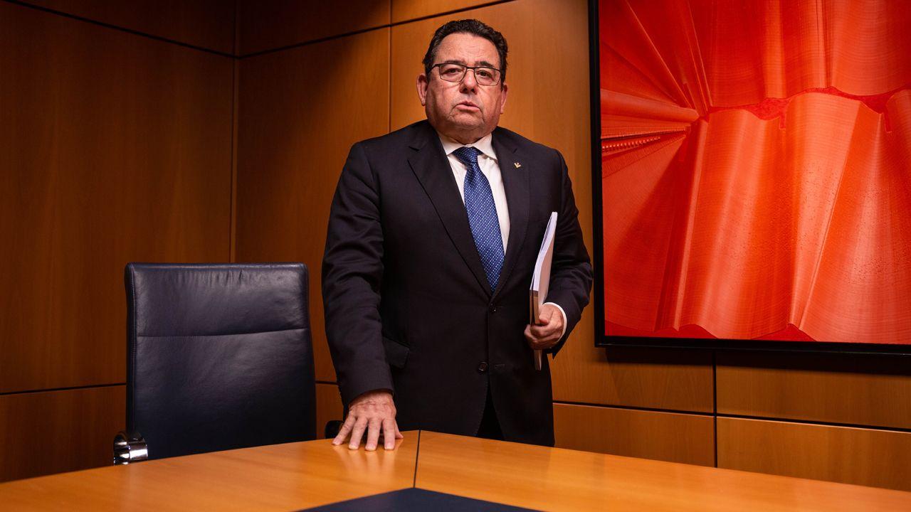 Fernando Martínez, director general de Caja Rural Asturias