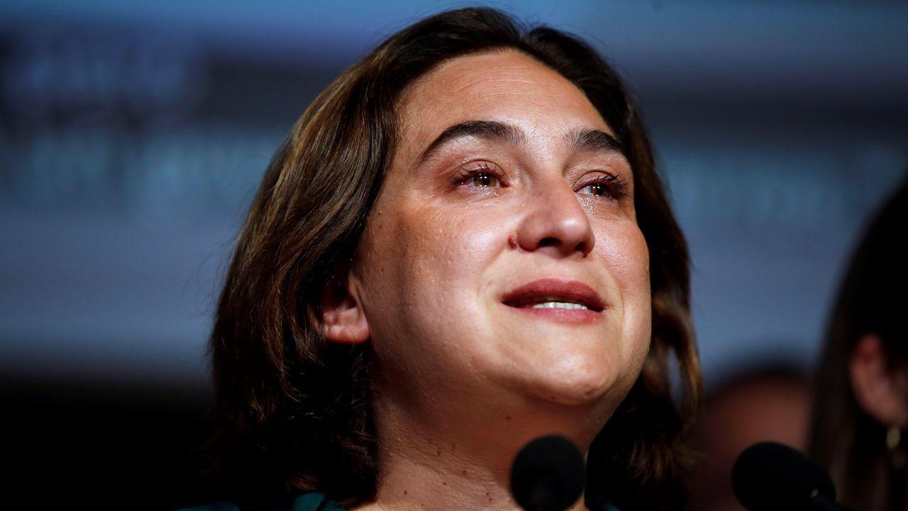 Derrota amarga para Colau, actual alcaldesa de Barcelona, empatada a concejales con Maragall de ERC, pero con escasas posibilidades