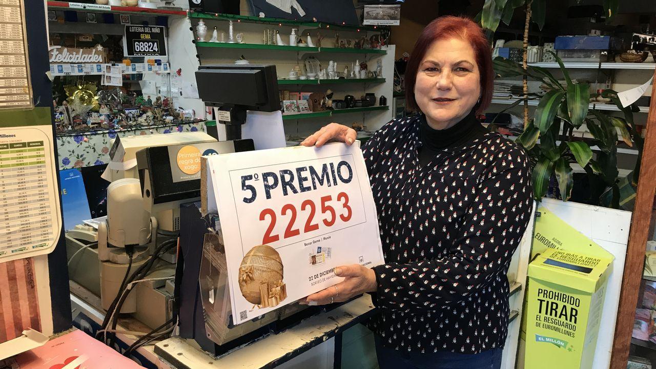 Premiados en Gijón en el Sorteo del Niño de 2016