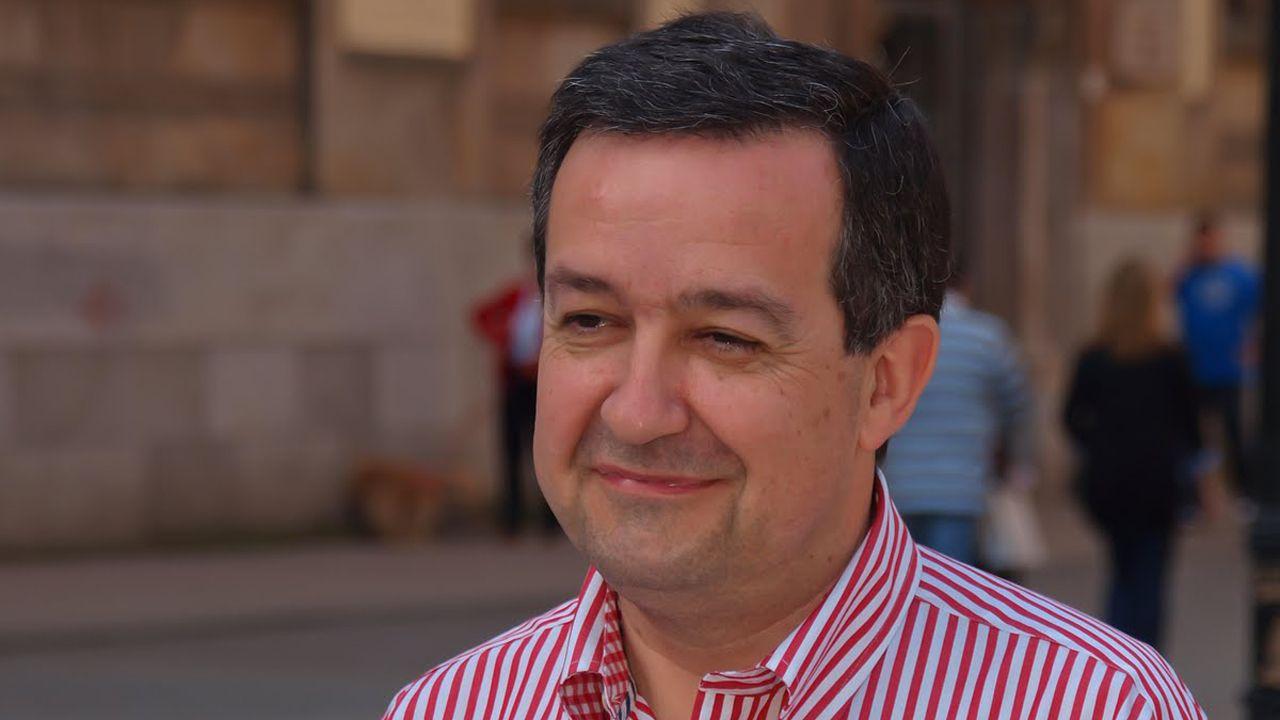 Mercedes Fernández interviene en el Comité Ejecutivo Regional del PP de Asturias.Francisco Rodríguez Cubiella