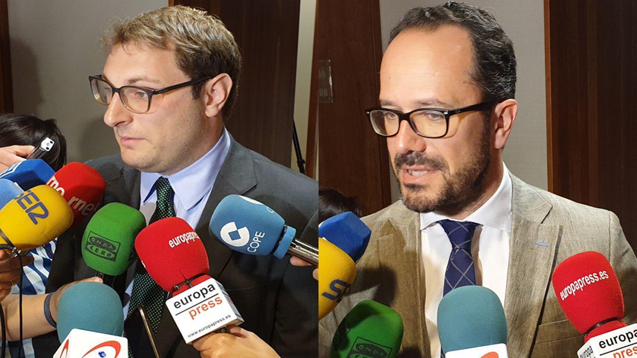 Asturias, Oviedo, Gijón.Adrián Pumares e Ignacio Blanco