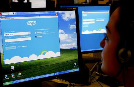 Skype tiene 300 millones de usuarios activos.