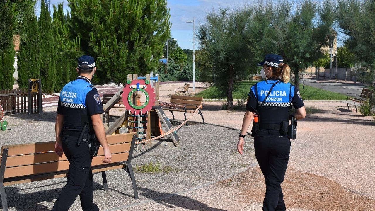 Policías locales en una imagen de archivo