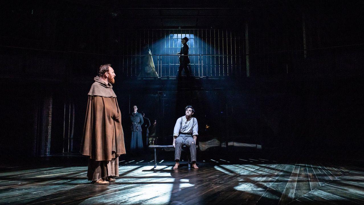 Escena de «Medida por medida», obra de Shakespeare datada en los inicios del siglo XVII en un reciente montaje de la Royal Shakespeare Company dirigido por Gregory Doran