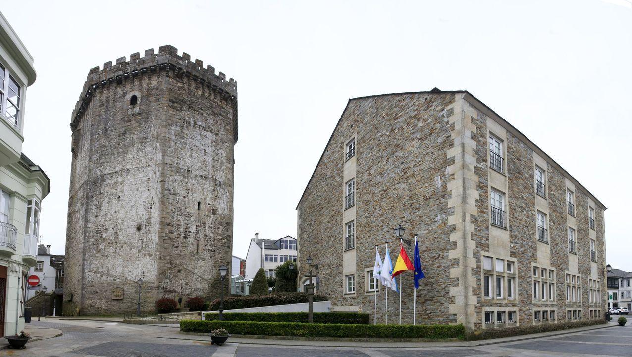 Torre del Homenaje del Castillo de los Andrade, Parador de Vilalba
