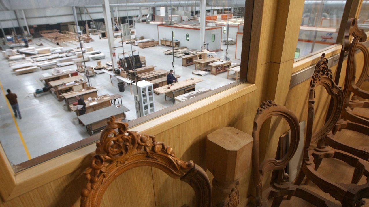 La sede de Cándido Hermida, en foto de archivo, está en Río do Pozo