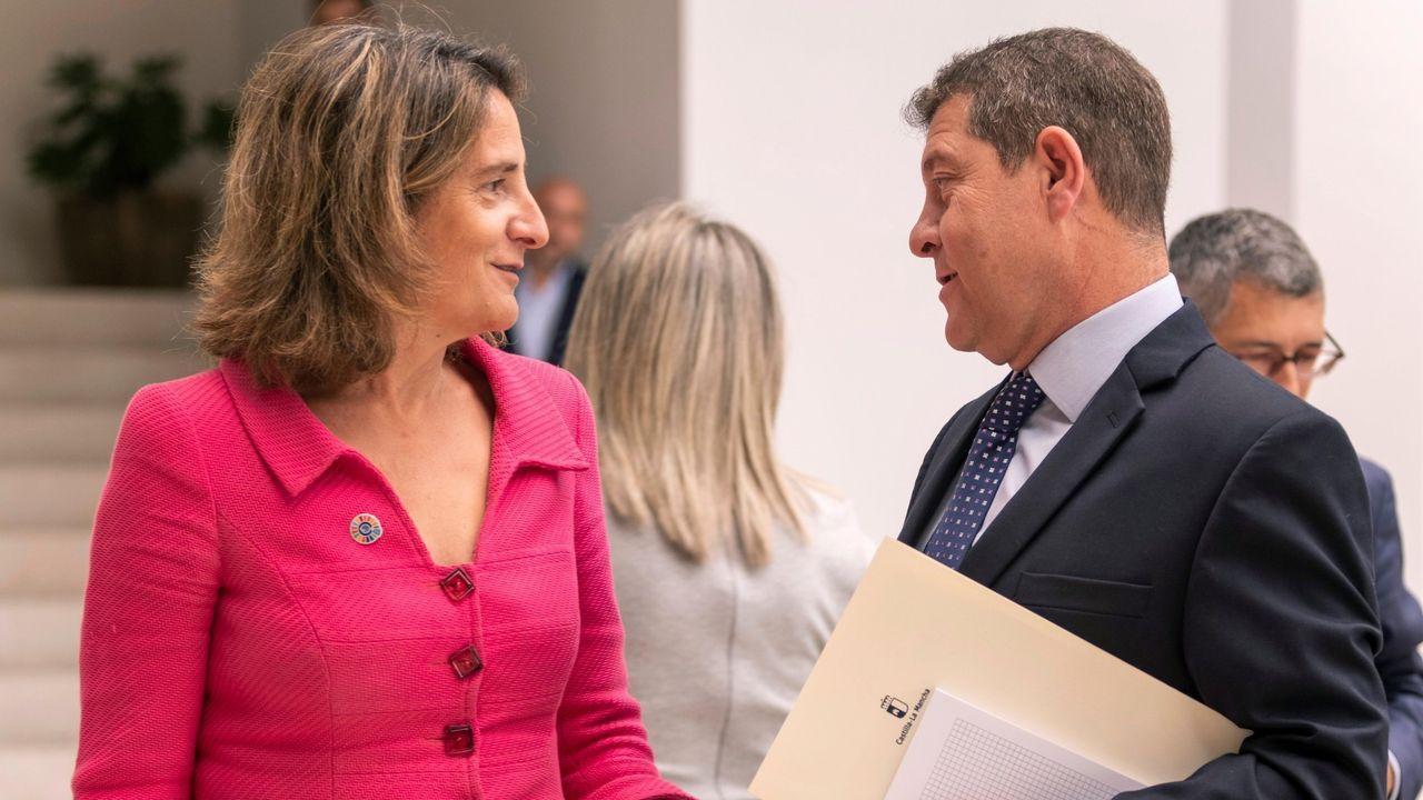 6 DE AGOSTO - TOLEDO: Teresa Ribera, ministra de Transición Ecológica, se reúne con el presidente de Castilla-La Mancha, Emiliano García-Page