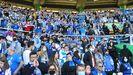 La afición del Deportivo abarrota las gradas de El Sardinero