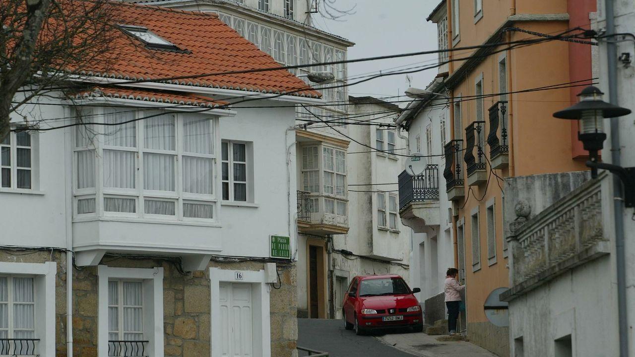Vista de A Graña, donde los vecinos pueden participar en la iniciativa «Embelece o teu barrio»