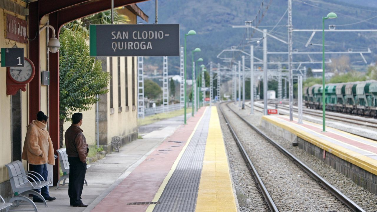 Por el camino de la Poza de Xan Arteiro.La estación ferroviaria de San Clodio será escenario de una recreación histórica si se cumple el proyecto que maneja el gobierno municipal