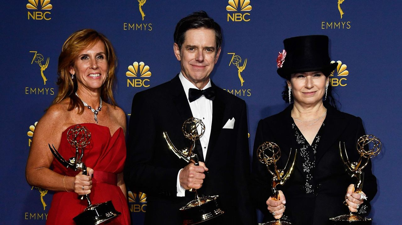 Emmy 2018:  Sheila Lawrence, Daniel Palladino y Amy Sherman-Palladino