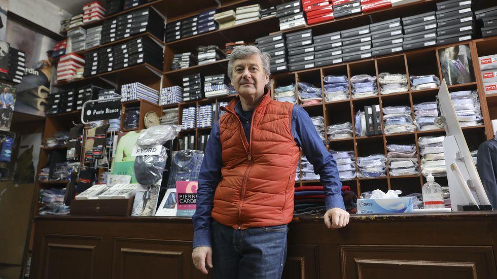 Jorge Riande, de Confecciones Riande, tiene ya todo a punto para volver y espera que se vaya retomando la normalidad de ahora en adelante