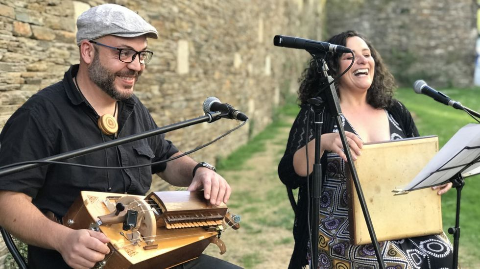 Pablo Pintor y Branca Villares actúan en Outeiro de Rei