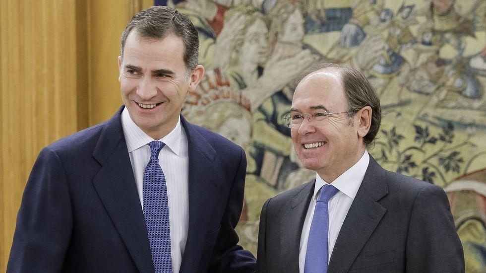 ¿Está en peligro el equilibrio entre las mareas y el PSOE?.El rey recibe al presidente del Senado, Pío García-Escudero, para ser informado de la constitución de la Cámara Alta