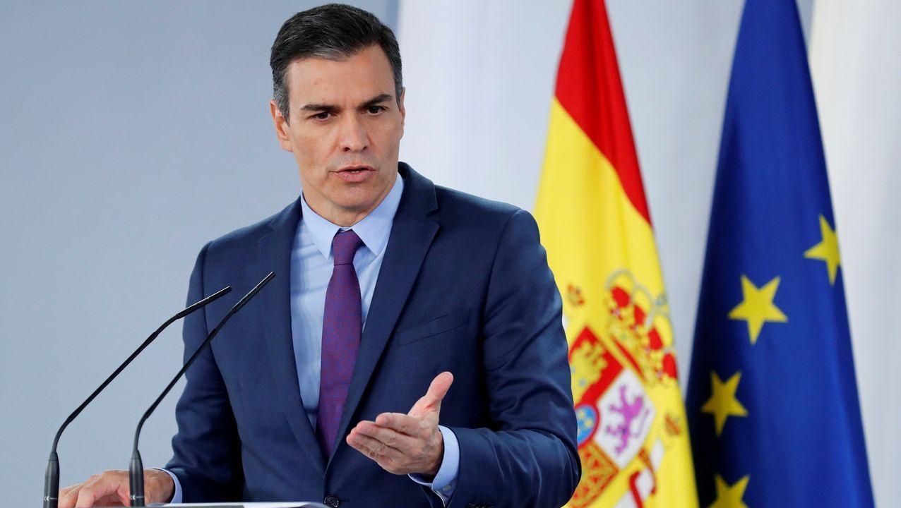 Primeras palabras de Sánchez sobre la salida de España de Juan Carlos I: «No se juzga a las instituciones, se juzga a personas»