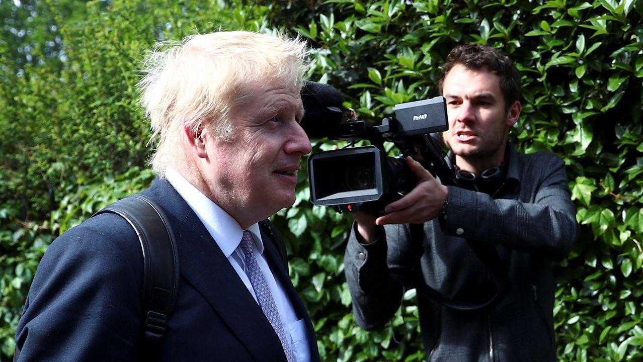 Boris Johnson, exalcalde de Londres y exministro de Exteriores, lidera todas las quinielas para suceder a May