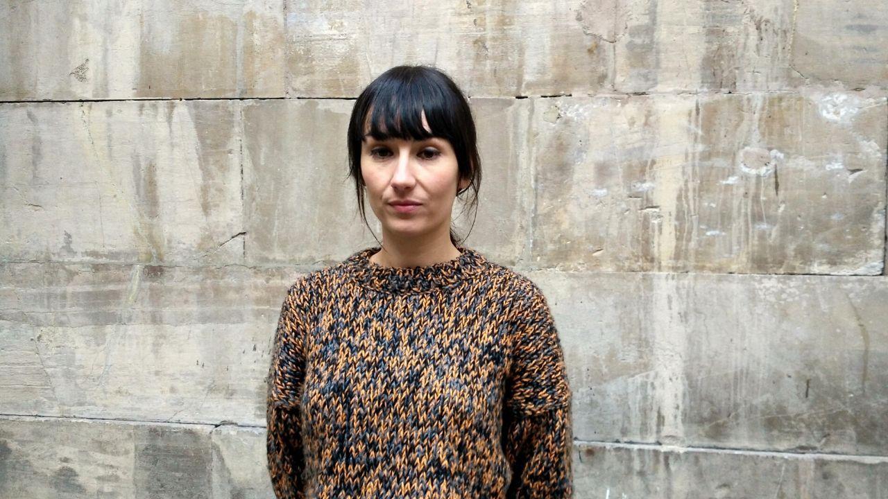 La cineasta asturiana Elisa Cepedal, en el CCAI de Gijón