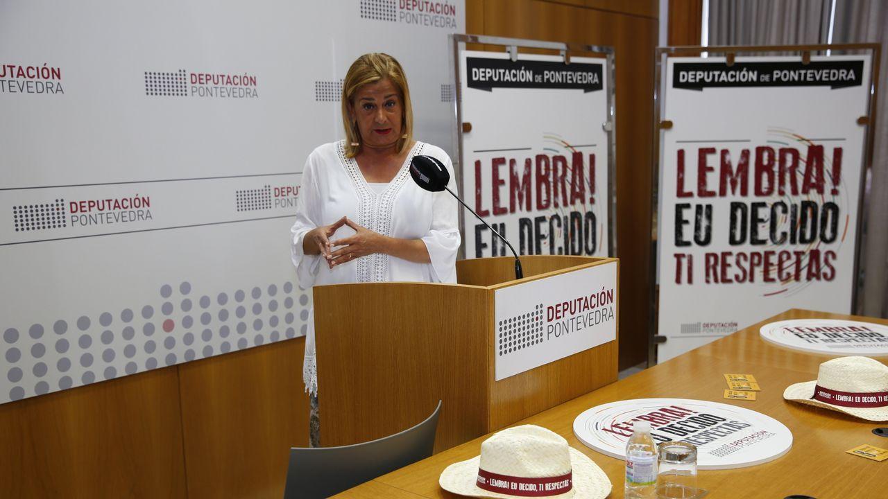 Adolfo Martínez, hijo de la mujer atacada por dos perros en Covelo:«Non a mataron e comeron aquí por cinco minutos».El rastro de sangre que dejó la mujer atacada, al ser arrastrada por los perros