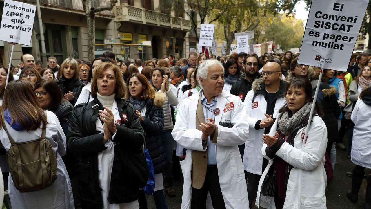 Médicos de atención primaria comenzaron ayer una huelga para recuperar su poder adquisitivo