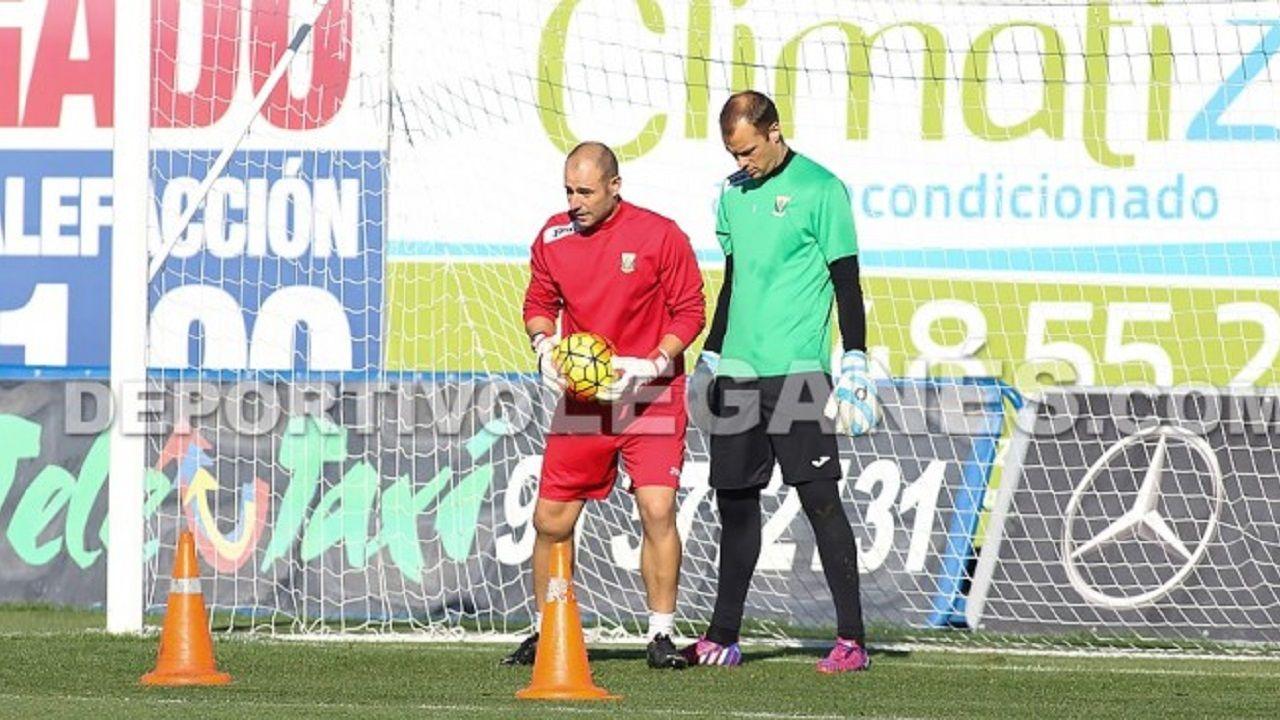 El legado de Cristiano en el Real Madrid.Carlos Sánchez y Queco Piña en un entrenamiento