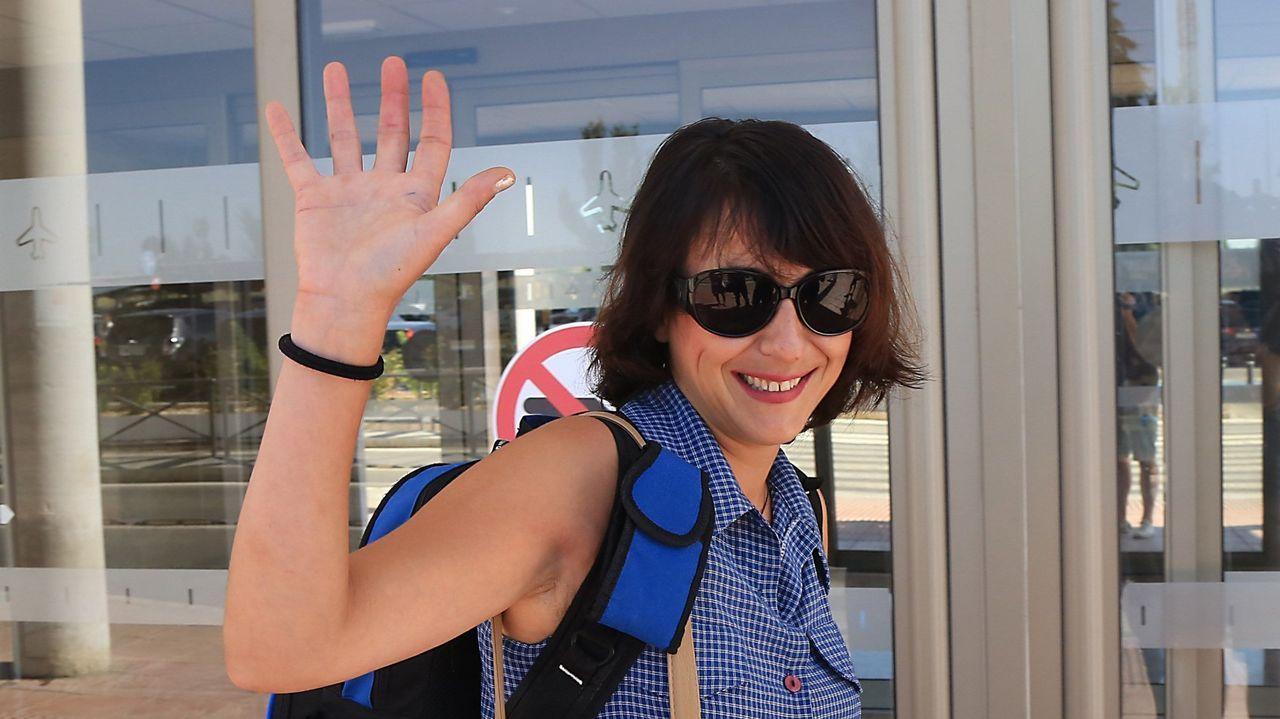   EFE.Juana Rivas, antes de viajar a Cerdeña para ver a sus hijos