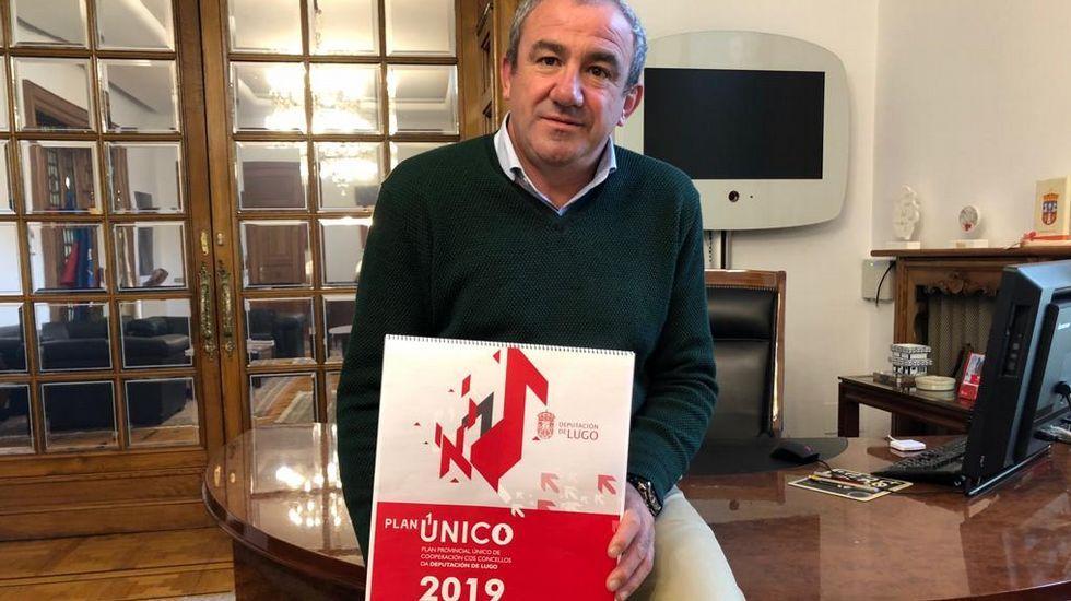 José Tomé se hace con el control del PSOE de Lugo para gobernar la Diputación.Gonzalo Caballero